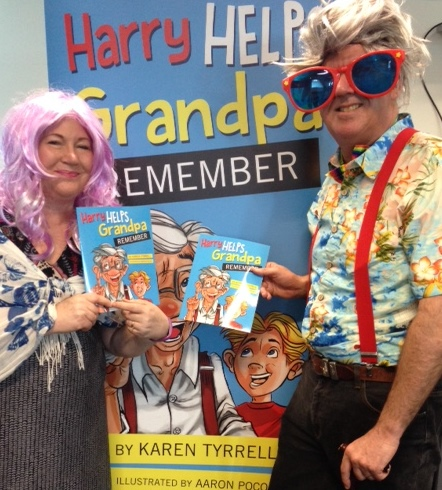 Karen Tyrrell presents Harry Helps Grandpa Remember pantomime