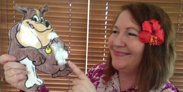 Flat Buddy meets Karen Tyrrell author