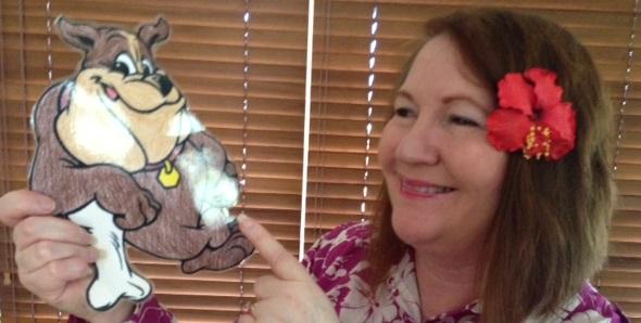 Flat Buddy meets Karen Tyrrell author
