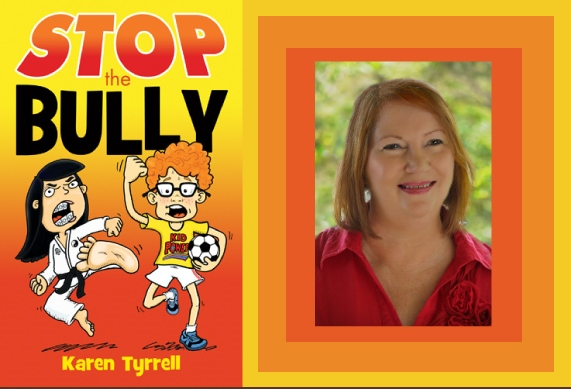 STOP the Bully + author poster
