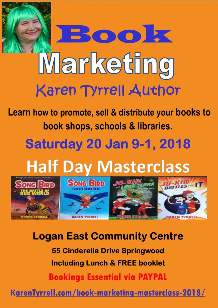 Book Marketing Masterclass 2018