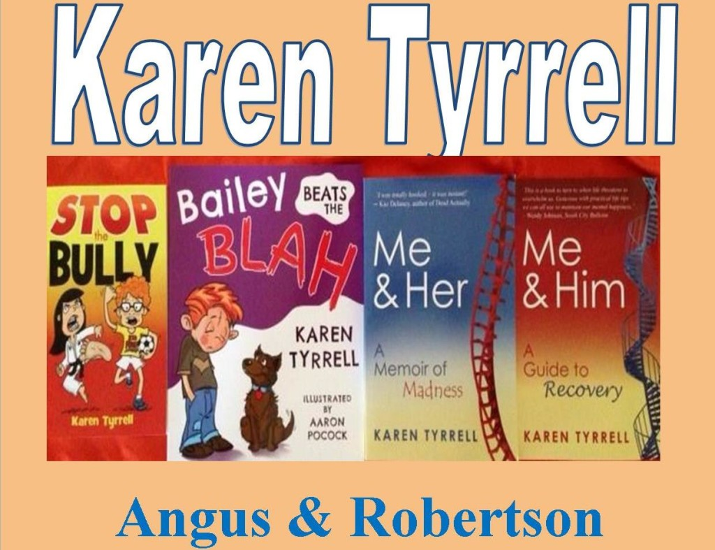 Karen Tyrrell @ Angus & Robertson