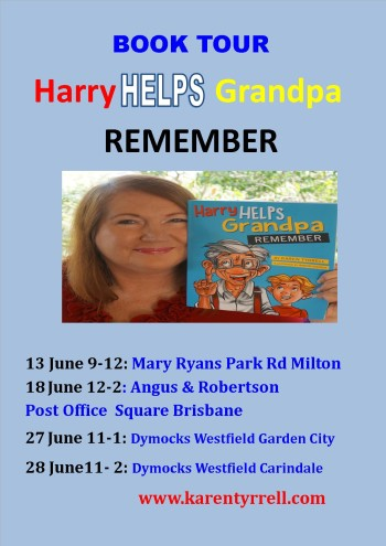 Harry Book signing June Flyer