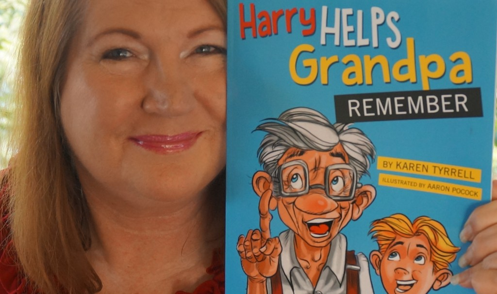 Harry Helps Grandpa Remember Story Time