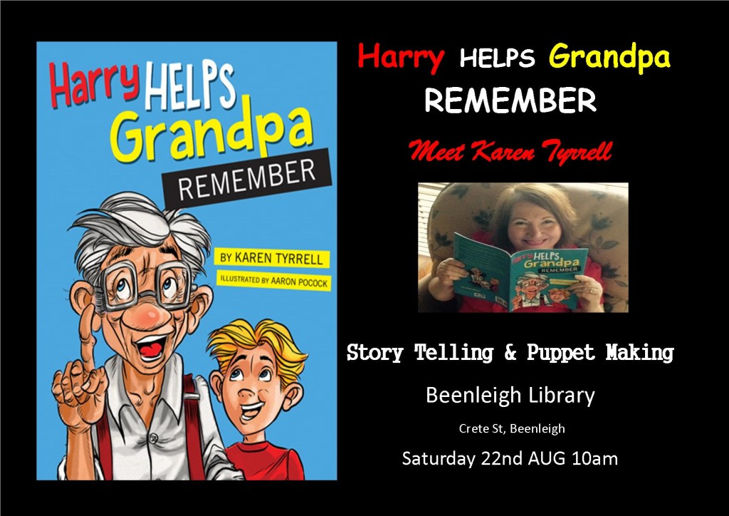 Harry at Beenleigh Lib Flyer