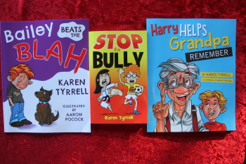 bailey Beats the Blah, STOP the Bully and Harry Helps Grandpa Remember
