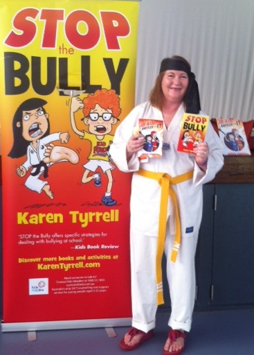 Karen Tyrrell  shares STOP the Bully and Jo-Kin Battles the It