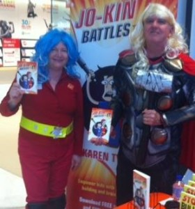 Captain Astra & THOR at Dymocks Carindale
