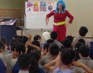 Author talk at Fairvale Public school Sydney