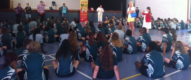 Books in Homes talk at  Loganlea High School
