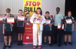 Loganlea High school Prize winners for reading