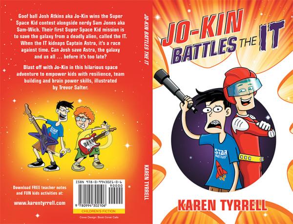 Jo-Kin Battles the It - front & back cover