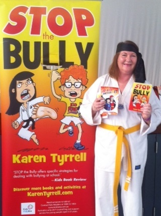 Books in Homes presentation with Stop the Bully