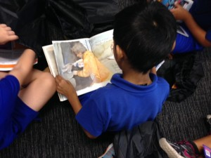 Carole Park kids love READING