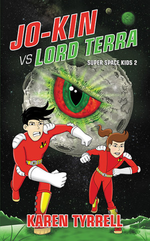 New Book Cover Jo-Kin vs Lord Terra by Karen Tyrrell
