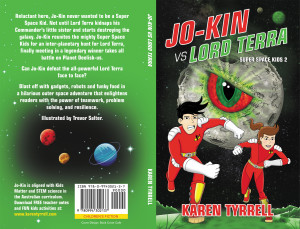 Jo-Kin vs Lord Terra front & back covers