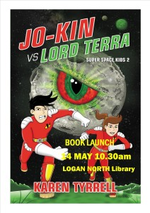 Book signing Jo-Kin vs Lord Terra