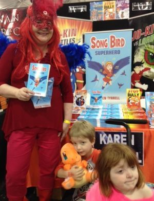 Meet SUPER reader Edvard Tape with his little sister who has a brain injury.