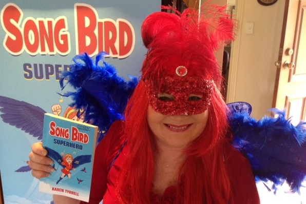 Meet me Karen Tyrrell AKA Song Bird during Mental Health Week