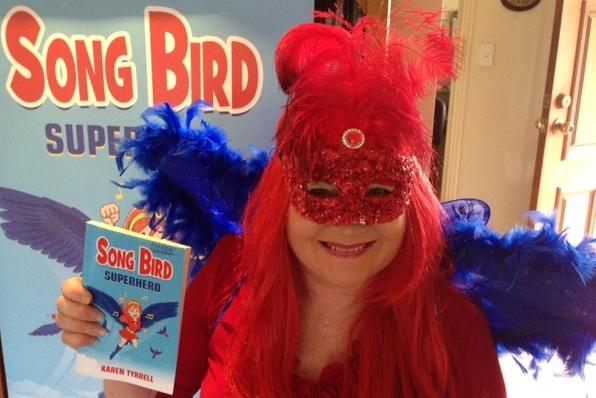 Meet me Karen Tyrrell AKA Song Bird during Mental Health Week
