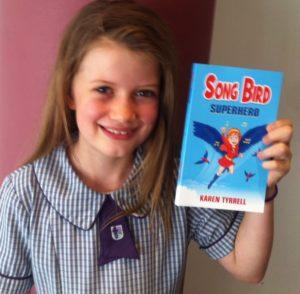 Fan Girl loves Song Bird Superhero