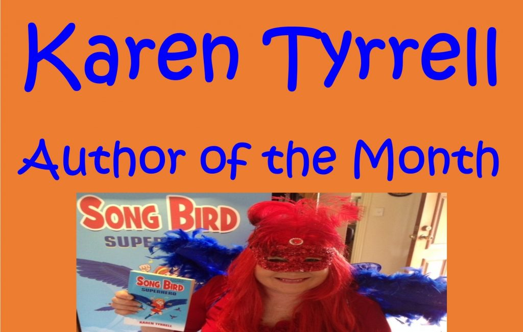 Karen Tyrrell Author of the Month