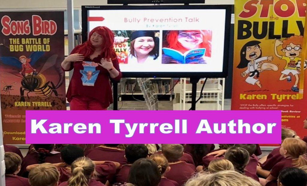 School Visits Karen Tyrrell