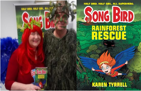Christmas Book Signing Author Karen Tyrrell