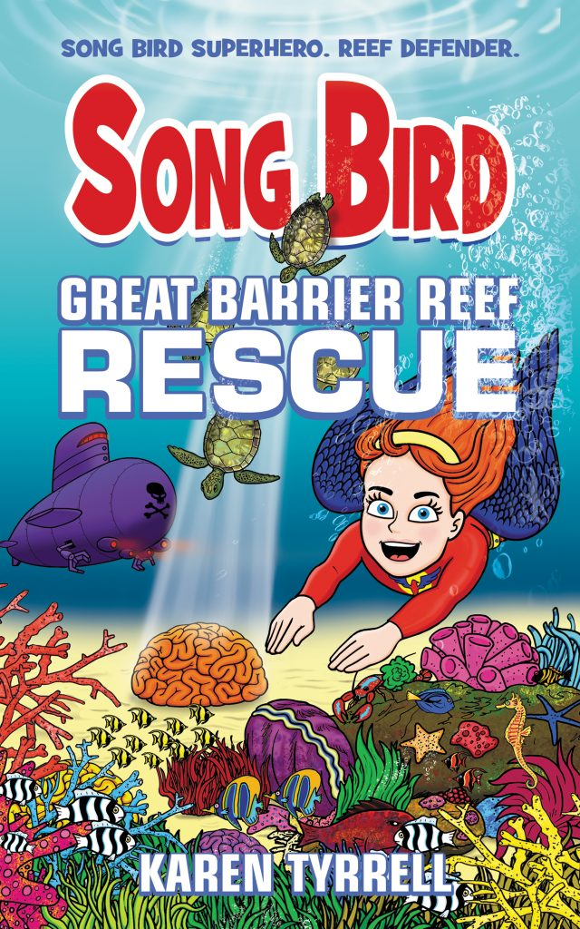ABC Radio Brisbane Song Bird Great Barrier Reef Rescue by Karen Tyrrell
