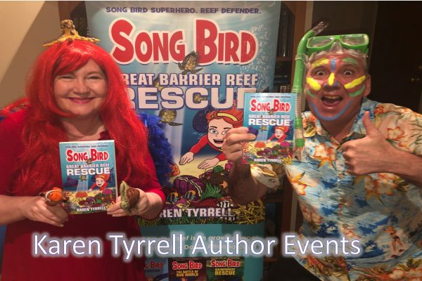 Karen Tyrrell Author Events