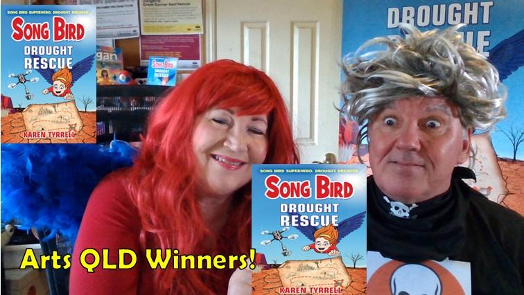 Song Bird Superhero vs Destructo songbirdbooks.com