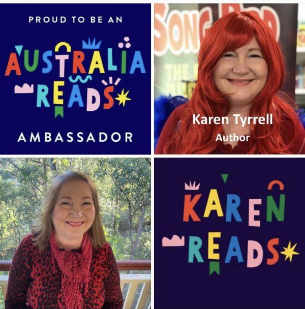 karen Tyrrell Australia Reads Ambassador https://australiareads.org.au/ambassadors/karen-tyrrell/